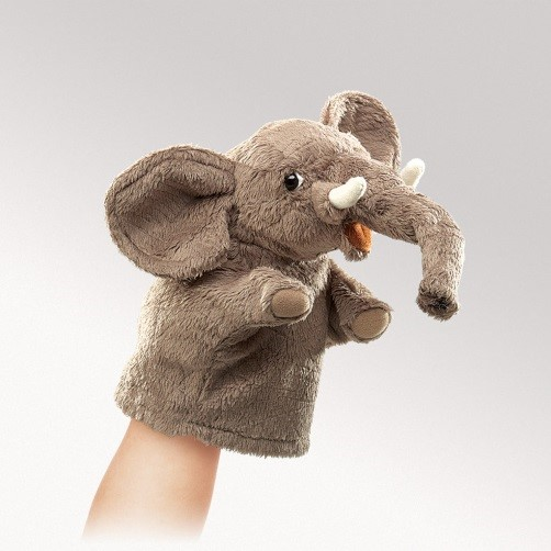 Little Hands Elephant Puppet | Audrey's Museum Store at ...